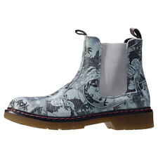 Bull Boxer Impala Womens Grey Print Chelsea Boots New Shoes Boxed