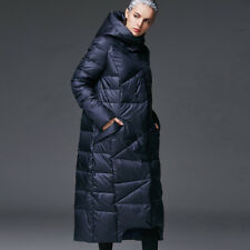 Long Down Jacket Hooded Winter Outwear Coat Parka New Women Warm Ladies Casual