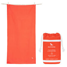 Fast Drying Towel for Travel, Gym, Yoga - Red, Compact & Lightweight