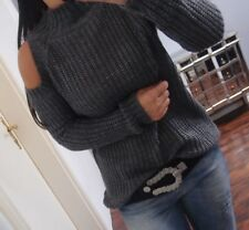 2eac22c09bb8 Pulli Lana S M L Strick Pullover Cut Out Blogger Schulter Offen Mohair  Musthave