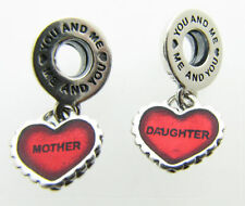 Genuine Pandora Mother & Daughter Charm - 790950EN27 - With/Without Pandora Box