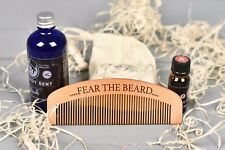 Personalised Beard Comb, Hair and Beauty, Mens Grooming Gift, Beard Oils. BC2