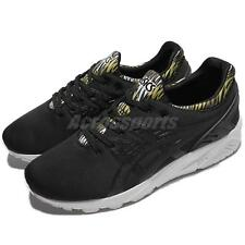 Asics Tiger Gel-Kayano Trainer Evo Black White Men Running Shoes H622N-9090