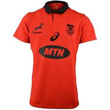 Asics South Africa Springboks 2017/18 Alternate Pro Rugby Shirt - Red