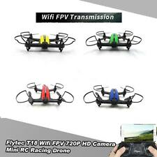 Flytec T18 Wifi FPV 720P Wide Angle HD Camera RC Racing Quadcopter drones Z0A9