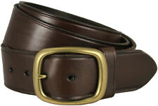 "Tennessee Gold Mens Leather Work Uniform Belt 1 3/4"" Wide - Brown"