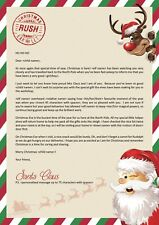 Letter from Santa, add your personal message. Based on elf on the shelf