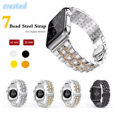 CRESTED 316L Stainless Steel band for apple watch 42mm/38 strap butterfly buckle