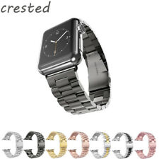 CRESTED Stainless Steel watch Band For Apple Watch band 42 mm/38 Link Bracelet