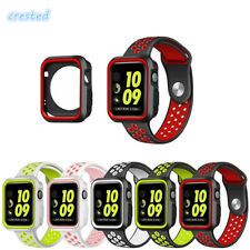 CRESTED sport silicone watch strap for apple watch band 42mm/38 replacement band