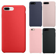 Funda para Apple iPhone 8 7 6 6s Plus Original Ultra Suave Funda de silicona ce