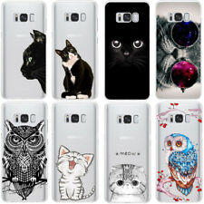 Cat Case for iPhone 6 6S 7 8 Plus X 4 4S 5S 5C 5 SE for Samsung Galaxy J3 J5 A3