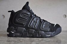"Nike Air More Uptempo ""Supreme"" - Black/Black-White"