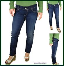 JEANS MELTIN'POT MEDHA DONNA AFFUSOLATO ELASTICIZZATO PUSH UP FIT TG W31 W32