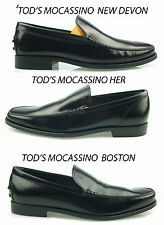 mg1 Tod's mocassin CUIR homme chaussures mocassins chaussures pour hommes men's