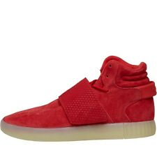 NEW adidas Originals Mens Tubular Invader Strap Trainers Red 7.5-10.5 UK