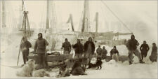 """Forex Fridtjof Nansen prepares to leave the """"F... - National Library of Norway"""