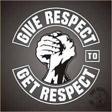 Give Respect To Get Respect (Aufkleber)