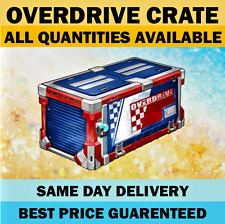 Overdrive Crate - Any Quantity - Rocket League Crates PS4 PlayStation || INSTANT