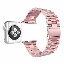 Replacement Stainless Steel Strap Band Clasp for Apple Watch 38 / 42 mm iWatch