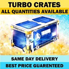 TURBO CRATE - Any Quantity - Rocket League Crates PS4 || Same Day Delivery