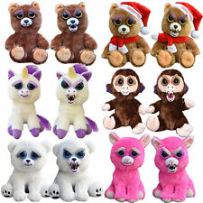 Plüsch Tiere Pets Expression Stuffed Scary Face Toy Animal Weinachten DE