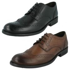 Hombre Base London Zapatos Formales Roble