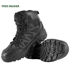 Men Boots Imported Leather Breathable Outdoor Sports Tactical Hiking Shoes Top