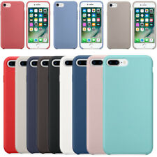 Original Ultra Suave Funda de silicona Funda para Apple iPhone 8 7 6s Plus Box