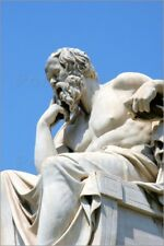 Forex Statue of Socrates in front of the Academy of Athens - Prisma