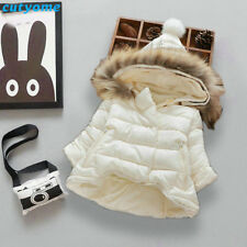 Baby Coat Hooded Winter Down Jacket Parka Outwear Girl Snowsuit Warm Thicken Kit
