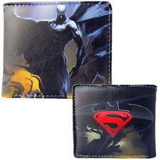 Hombre Marvels Batman contra Superman Dawn of Justicia Cartera Plegable Bolso