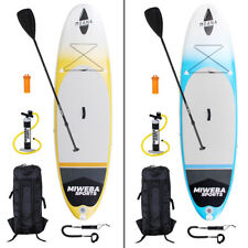 STAND UP PADDLE SUP Tavola Surf ASSE gonfiabile 305 & 325cm 15cm pagaiare PINNA