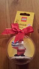 Lego bauble contains gold bricks or Santa/ Father Christmas brand new