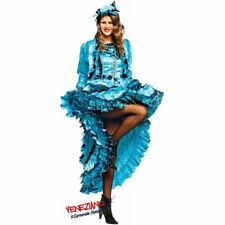 COSTUME di CARNEVALE da LADY BURLESQUE vestito per Donna adulti travestimento ve
