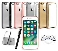 "Apple iPhone 6 (4.7"") - ULTRA FINO EFECTO CROMO FUNDA TRANSPARENTE DE GEL &"