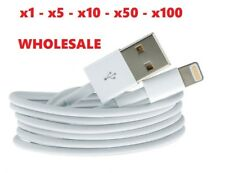 Wholesale Lightning Sync Charger USB Data Cable Lead For iPhone 6 5s 5 C SE iPad