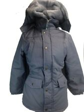 KIDS HOODED JACKET GIRLS WINTER TOP PARKER PARKA COAT SCHOOL OUTWEAR 11-12YEARS