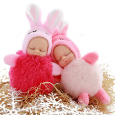 Baby Plush Doll Reborn Silicone Toy 10cm Lifelike Soft Girls Christmas Gift Kit