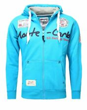 Sweat capuche turquoise Geographical Norway