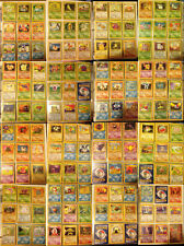 Original Pokemon Base Set Trading Cards - Near Mint Condition - Pick A Card
