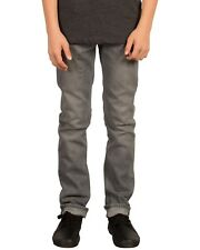 Volcom 2X4 Denim Jeans - Grey - Boys Jeans