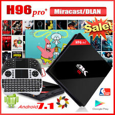 H96 Pro Plus Android6.0/7.1 S912 OctaCore 2/3GB+16/32GB 2WiFi 3D TV BOX+Keyboard