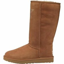 UGG Womens Classic Tall Crystal Star Ladies Boots Chestnut All Sizes