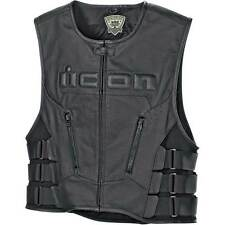 ICON Regulator D3o cuero moto motocicleta chanco Camiseta