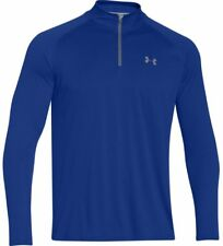 Under Armour Tech 1/4 Zip - Mens - Royal/Steel