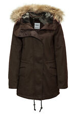 Only Damen Parka Wintermantel Winterjacke Winterparka Jacket Coat Warme Jacke %