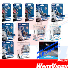 Philips WhiteVision Xenon Look TODOS H1 H3 H4 H7 H8 H11 W5W T4W