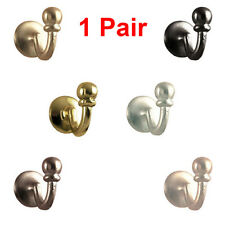 SPEEDY PALMA Curtain Tie Back Hooks, Curtain Tie Back, Ball End 2 Pack  FREE P&P