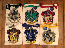 Brand New Primark Harry Potter Tote Canvas Shopping Bag Hufflepuff Ravenclaw